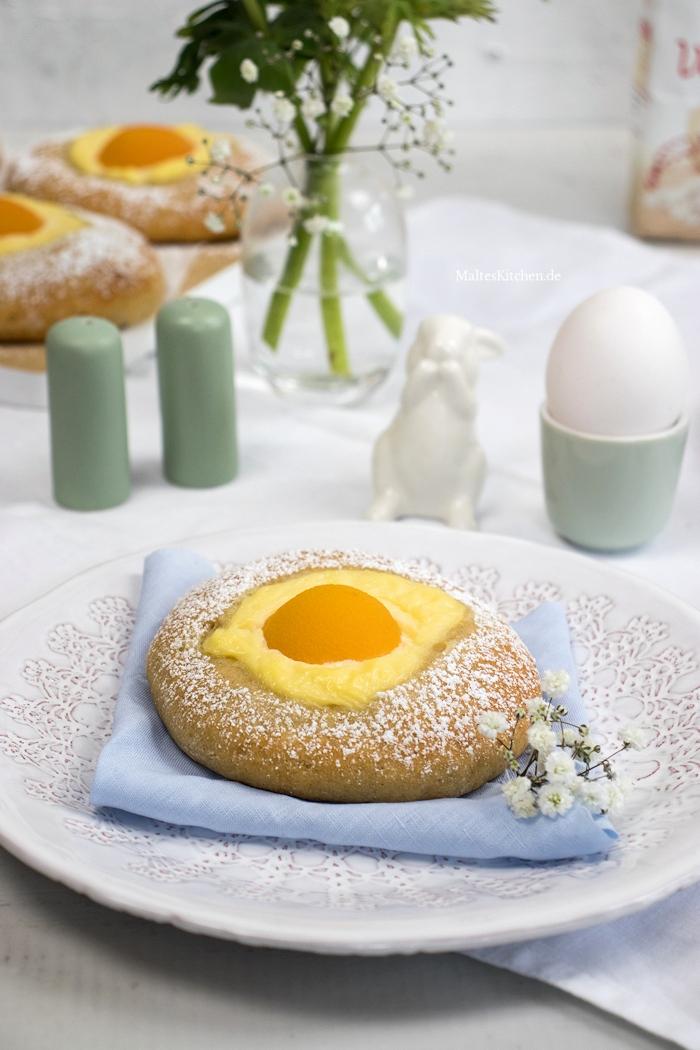 Süße Spiegeleier für Ostern