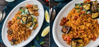 Rezept Couscous mit Auberginen