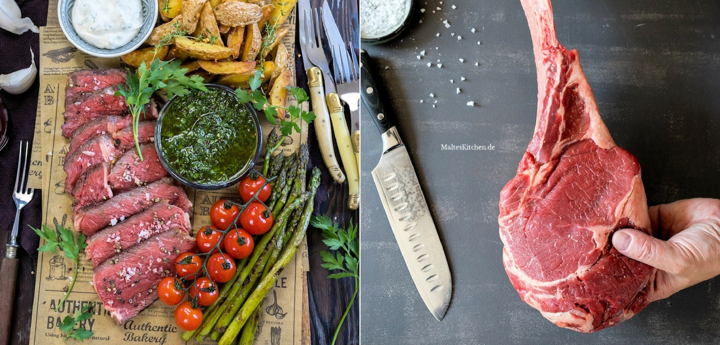 Rezept Tomahawk Steak mit Chimichurri