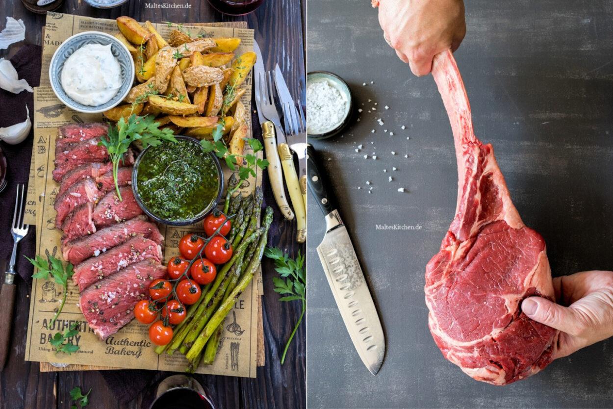Rezept Tomahawk Steak mit Chimichurri