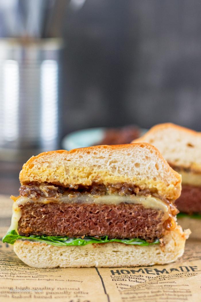 Beyond Meat Burger aus Erbsenprotein