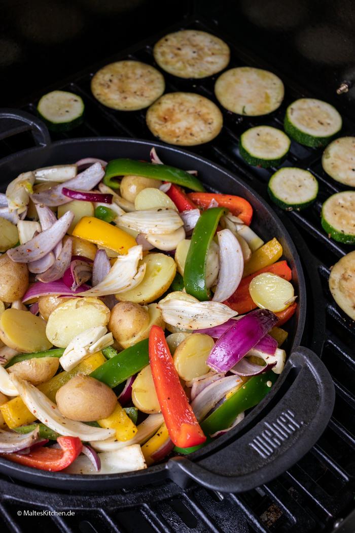 Gemüse vom Grill