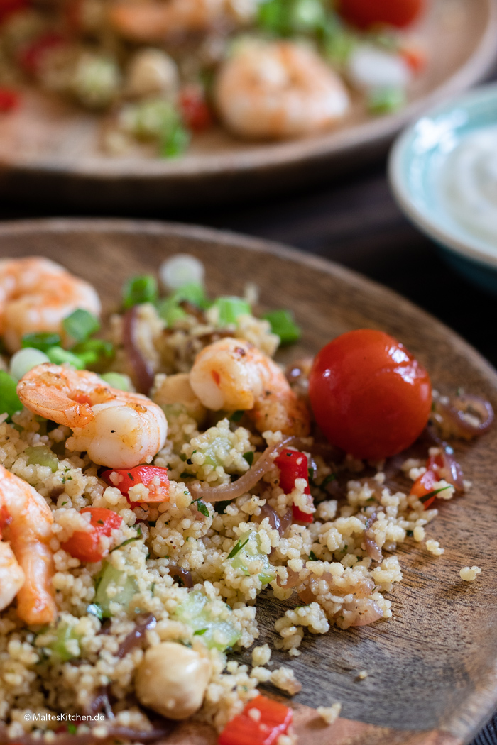 Sommerliches Couscous