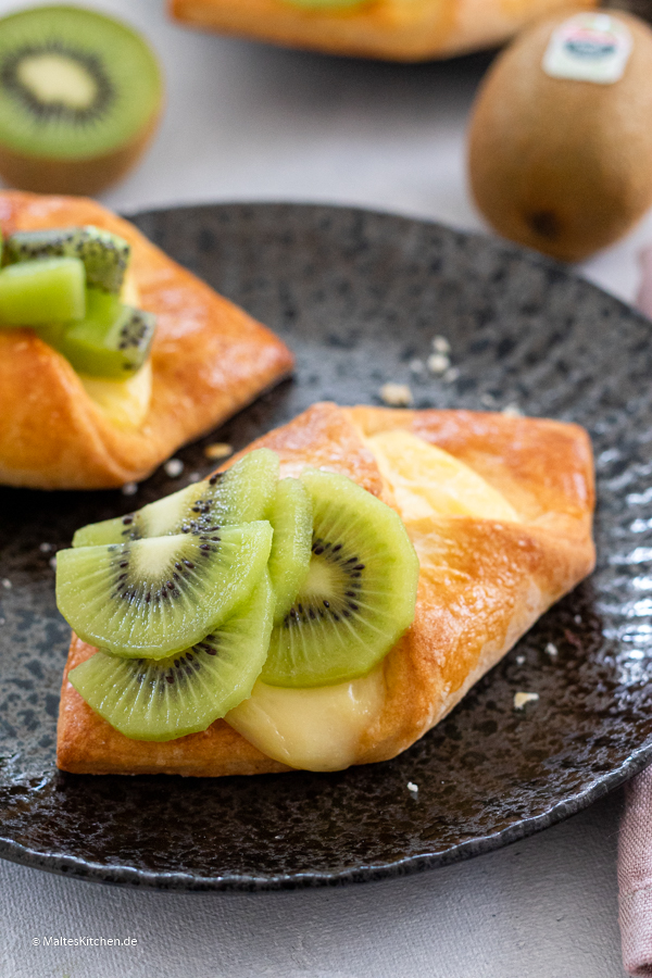 Plunderteilchen mit Green Zespri Kiwi