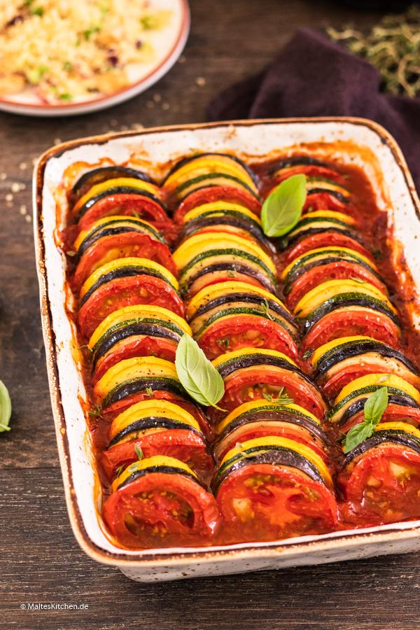 Leckeres Gemüse in Tomatensauce