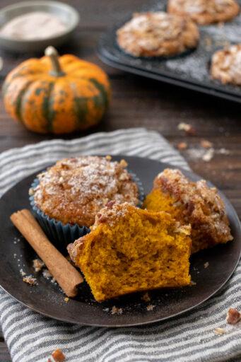 Saftige und leckere Pumpkin Spice Muffins