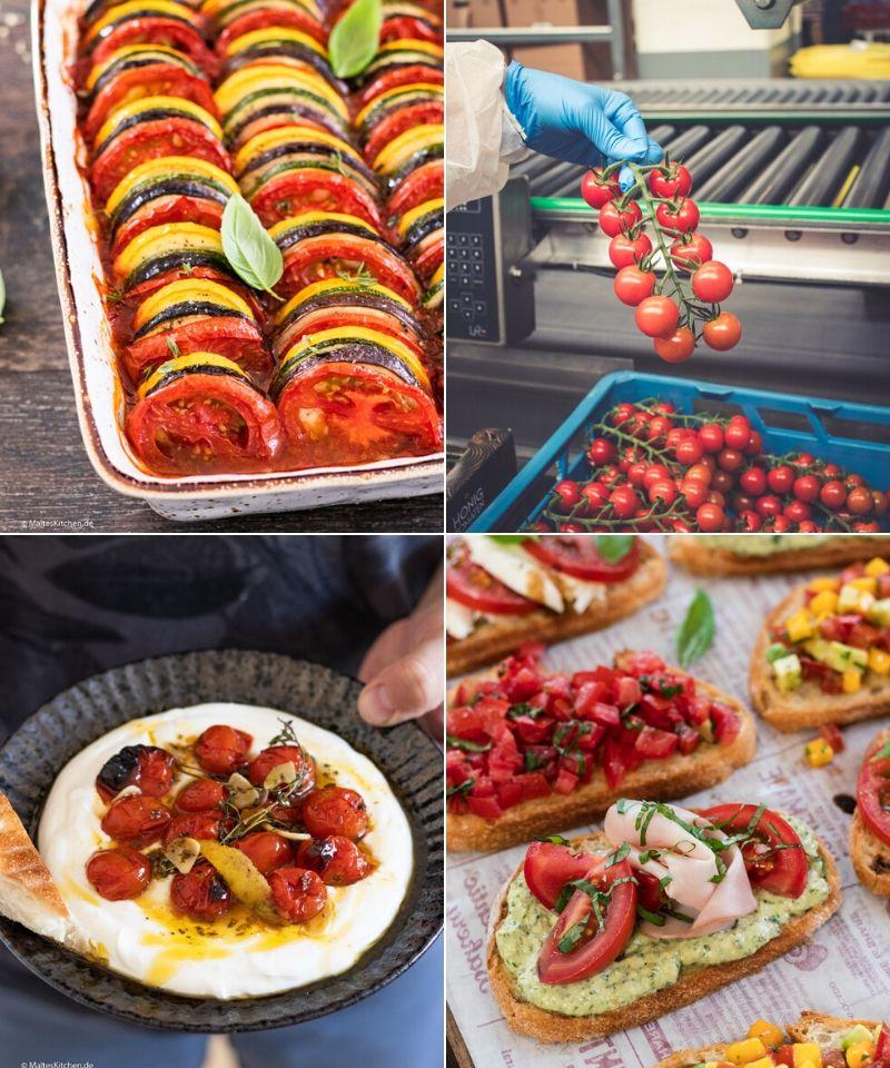 Kochen mit Looye Kwekers Tomaten