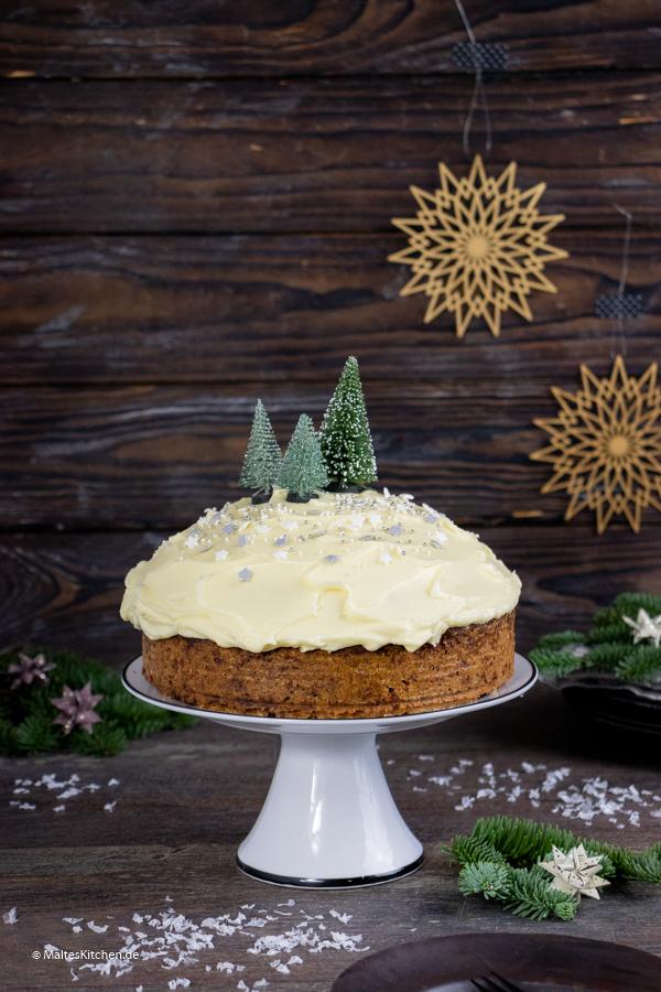 Saftiger Carrot Cake mit leckerem Frosting