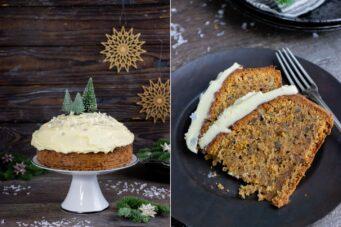 Rezept Carrot Cake mit Frosting