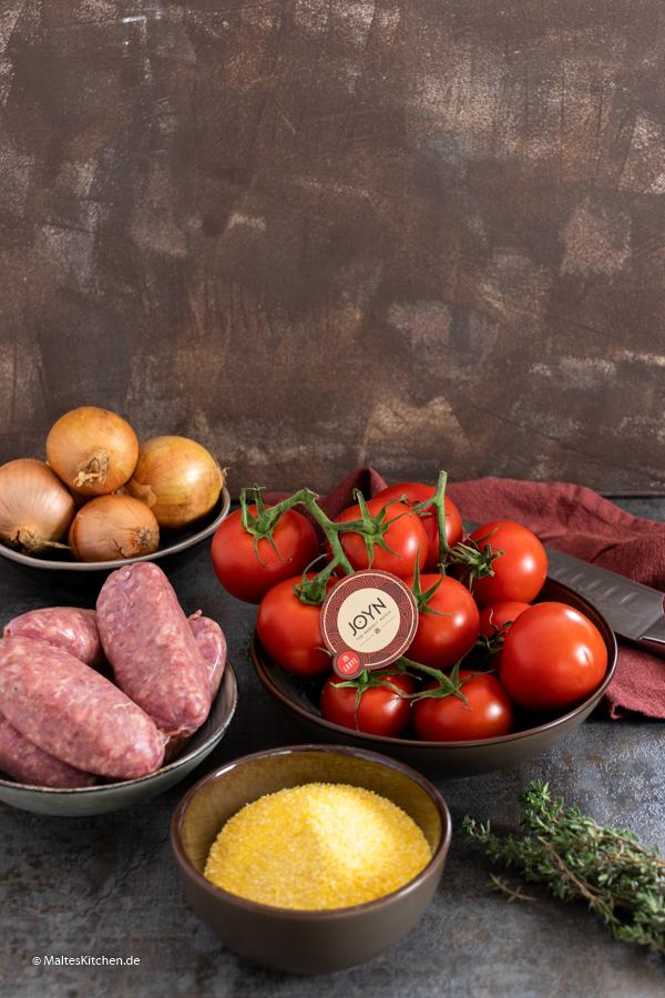 Salsiccia Ragout Zutaten