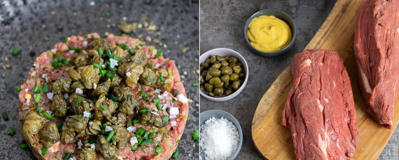 Rezept Rinderfilet-Tatar mit frittierten Kapern