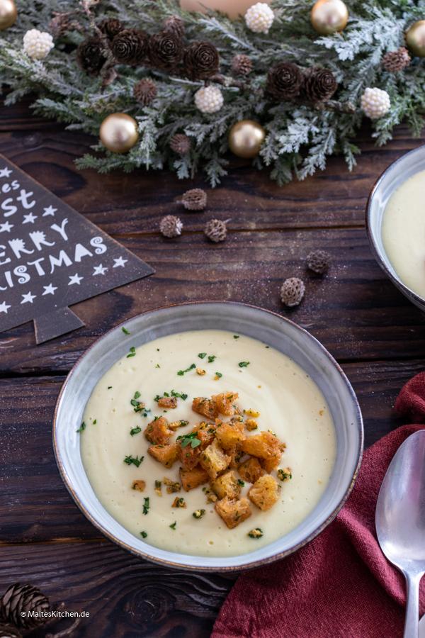 Leckere Vorsuppe für Weihnachten