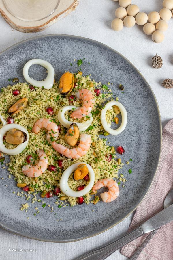 Festliche Vorspeise mit Frutti di Mare