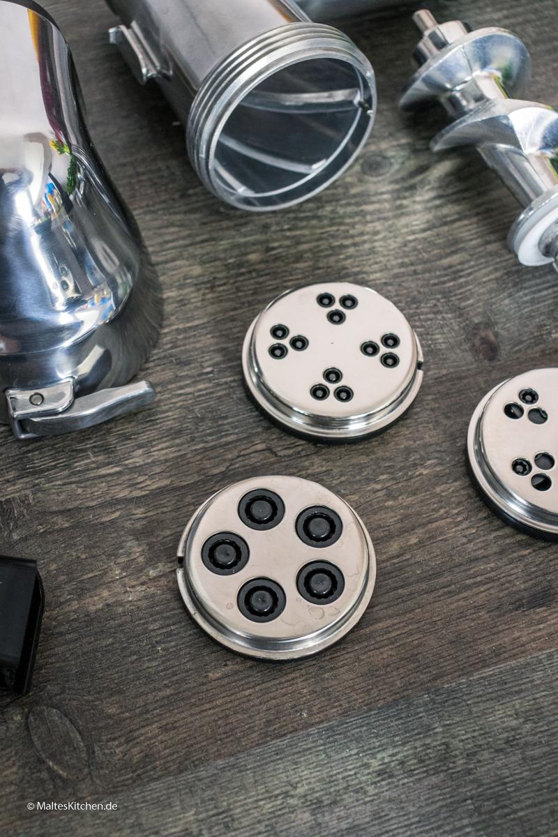 Nudeln selbst machen mit der Bosch OptiMUM
