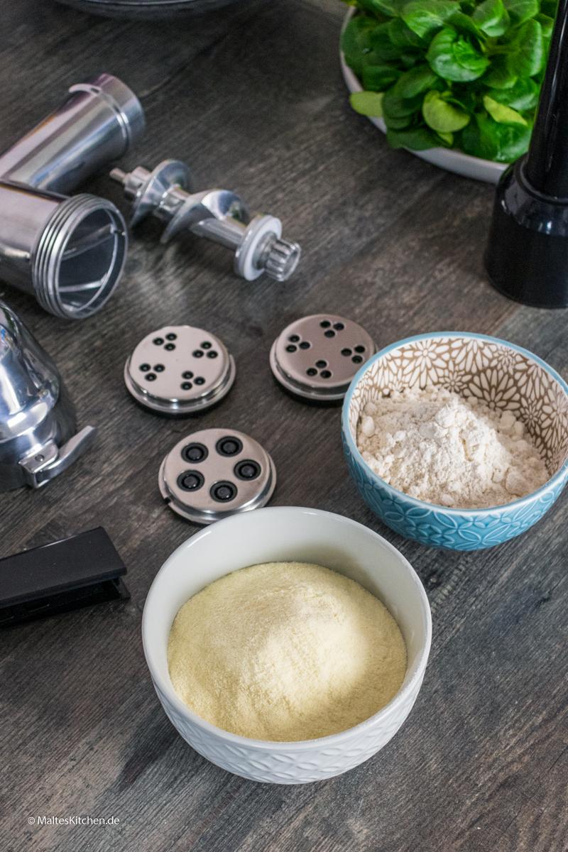 Pasta selbst machen mit der Bosch OptiMUM