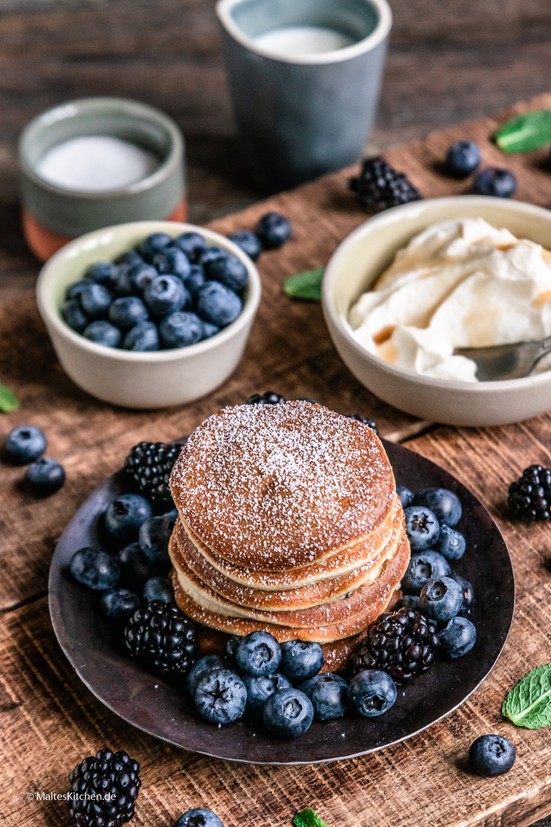 Meine liebsten Pancakes zum Frühstück