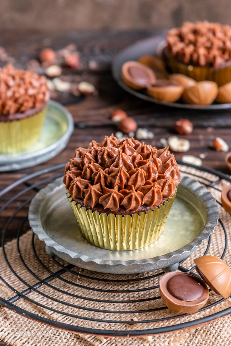 Super leckere Muffins mit Toffifee