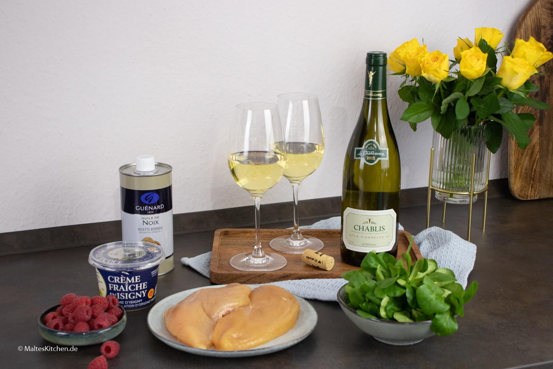 Kochen mit tollen Produkten aus Frankreich