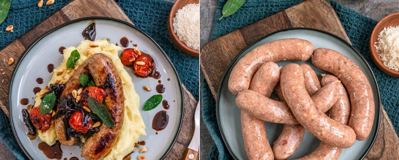 Rezept selbstgemachte feine Bratwurst