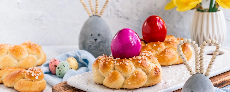 Rezept Osterkänze aus Hefeteig