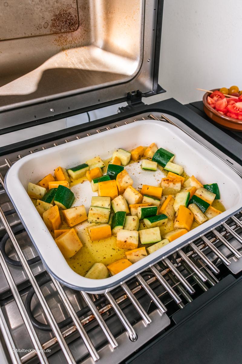 Zucchini vom SEVO GTS Elektrogrill