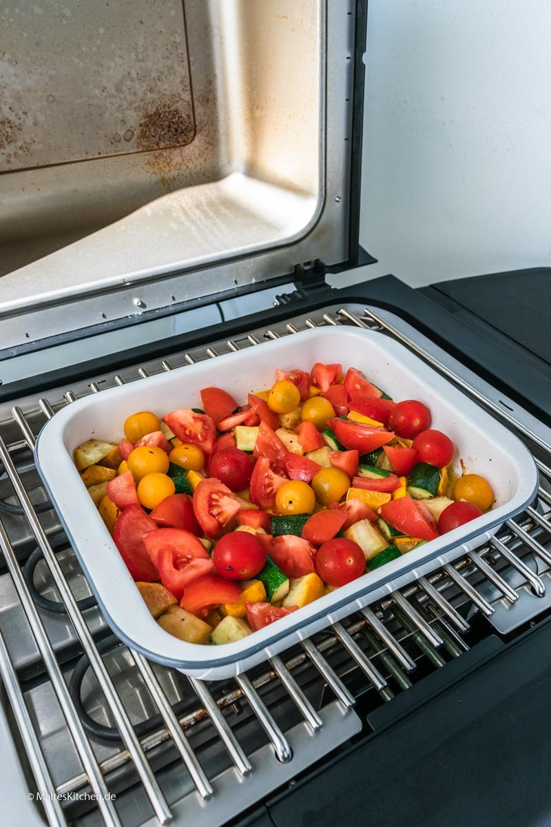Tomaten vom SEVO GTS Elektrogrill