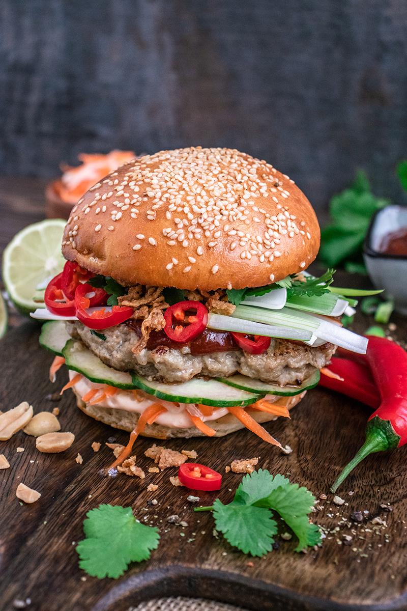 Saftig, exotisch, lecker - der Banh Mi Burger