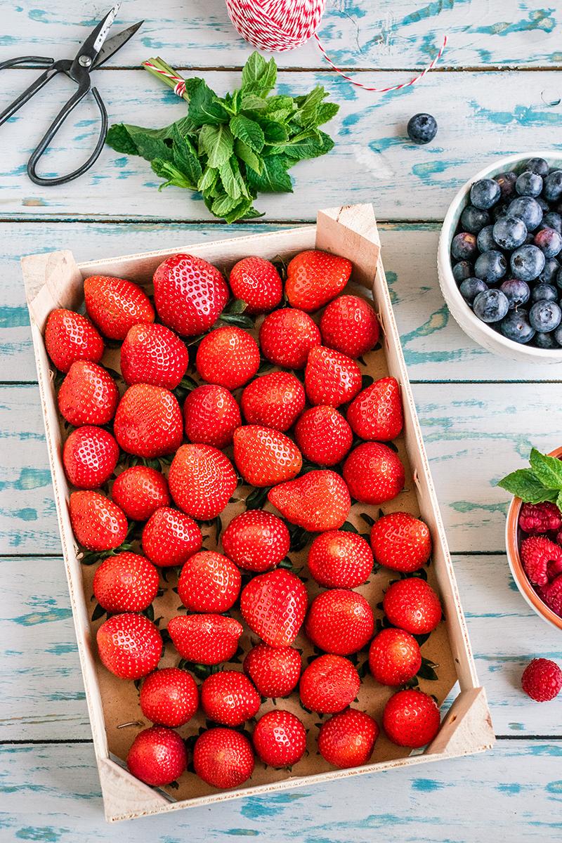 Leckere Erdbeeren von ALDI SÜD