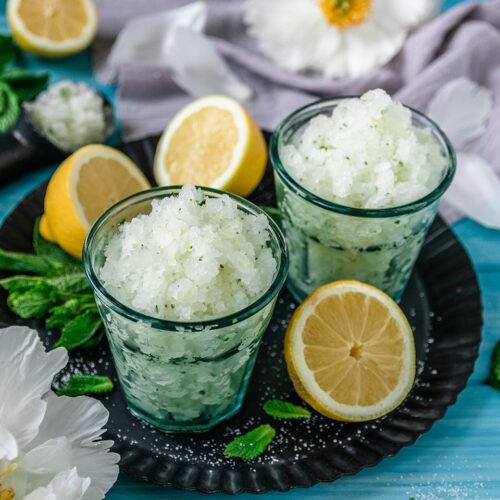 Rezept Zitronen Granita und Wassermelonen Granita