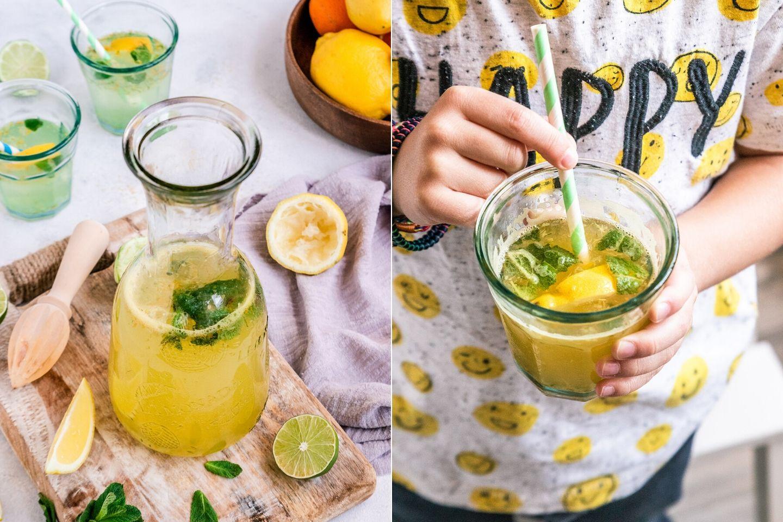 Rezept selbstgemachte Zitronade