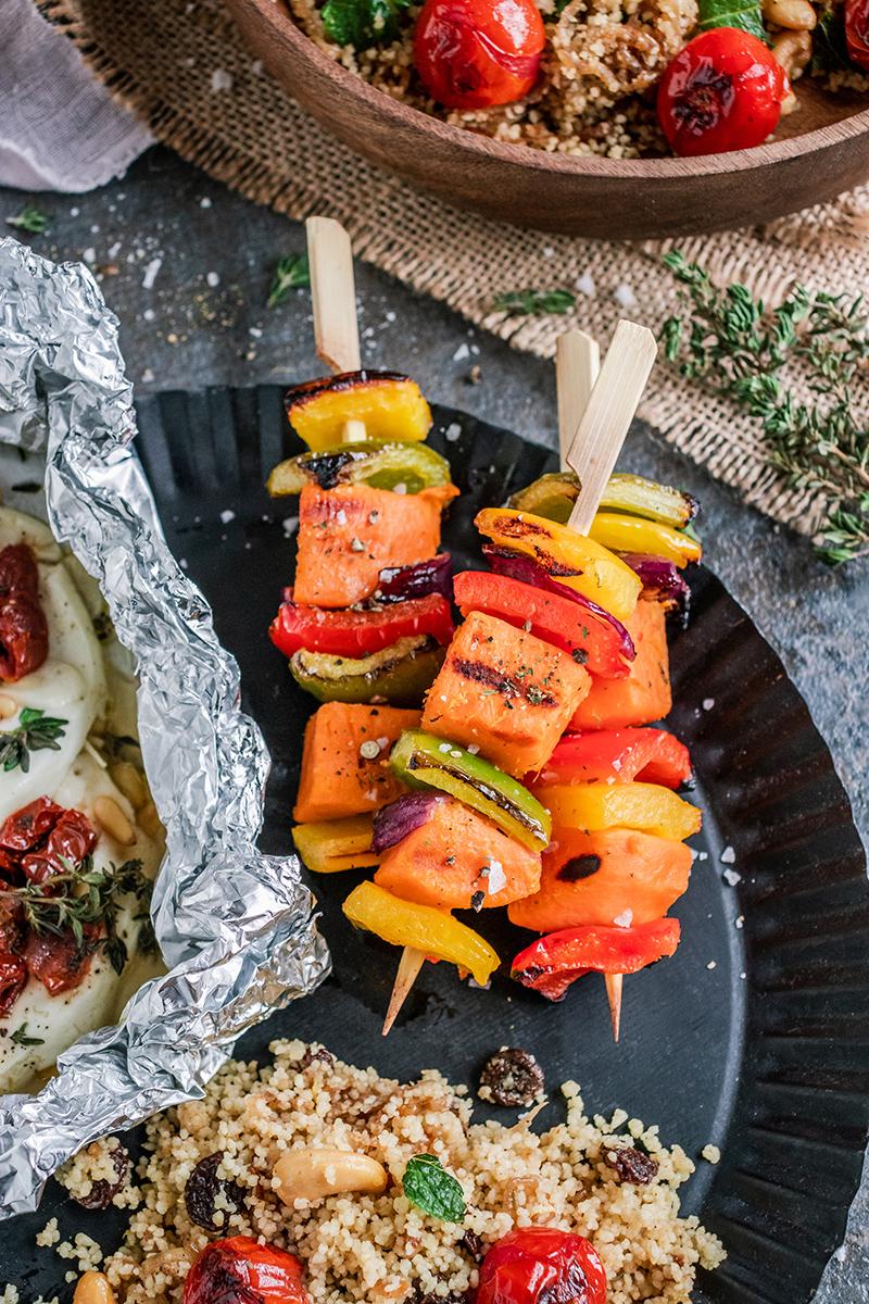 Lecker vegetarisch grillen mit dem SEVO GTS