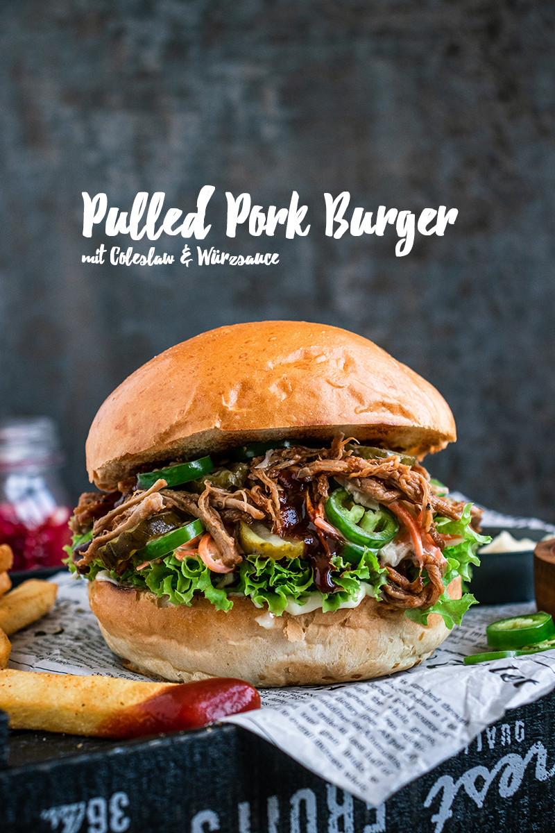 Saftiger Pulled Pork Burger auf dem SEVO GTS gegrillt