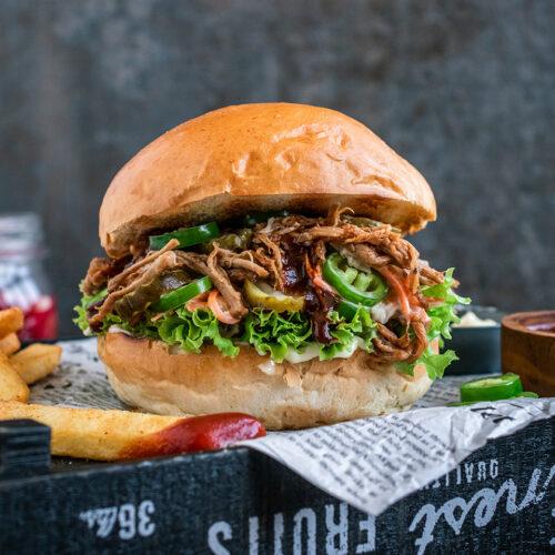 Rezept Pulled Pork Burger vom Elektrogrill