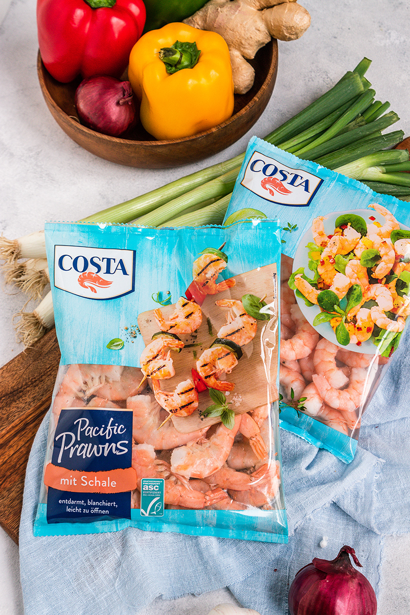Pacific Prawns von Costa