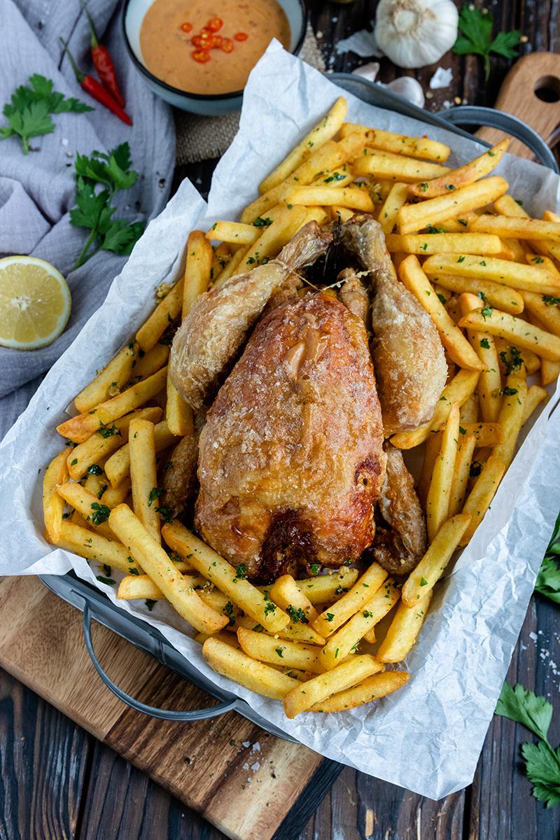 Perfektes Hähnchen aus dem Airfryer