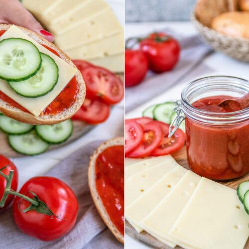 Rezept für eine selbstgemachte Tomatenmarmelade