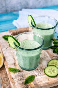 Lecker und Erfrischend - Buttermilch Shake