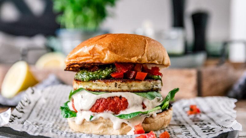 Rezept für den Wonder Burger von ALDI Süd