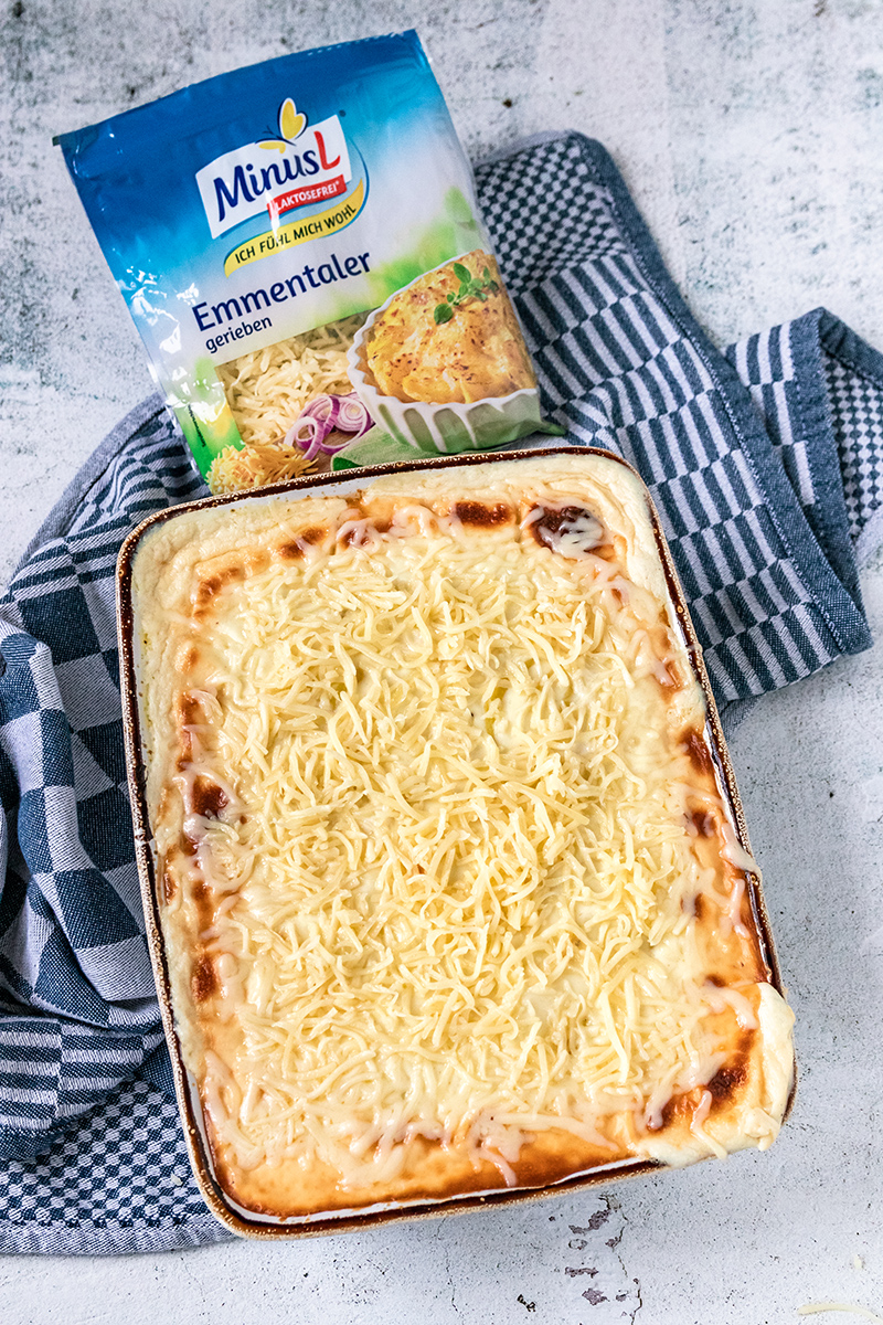Kartoffelgratin mit Emmentaler Käse von MinusL.