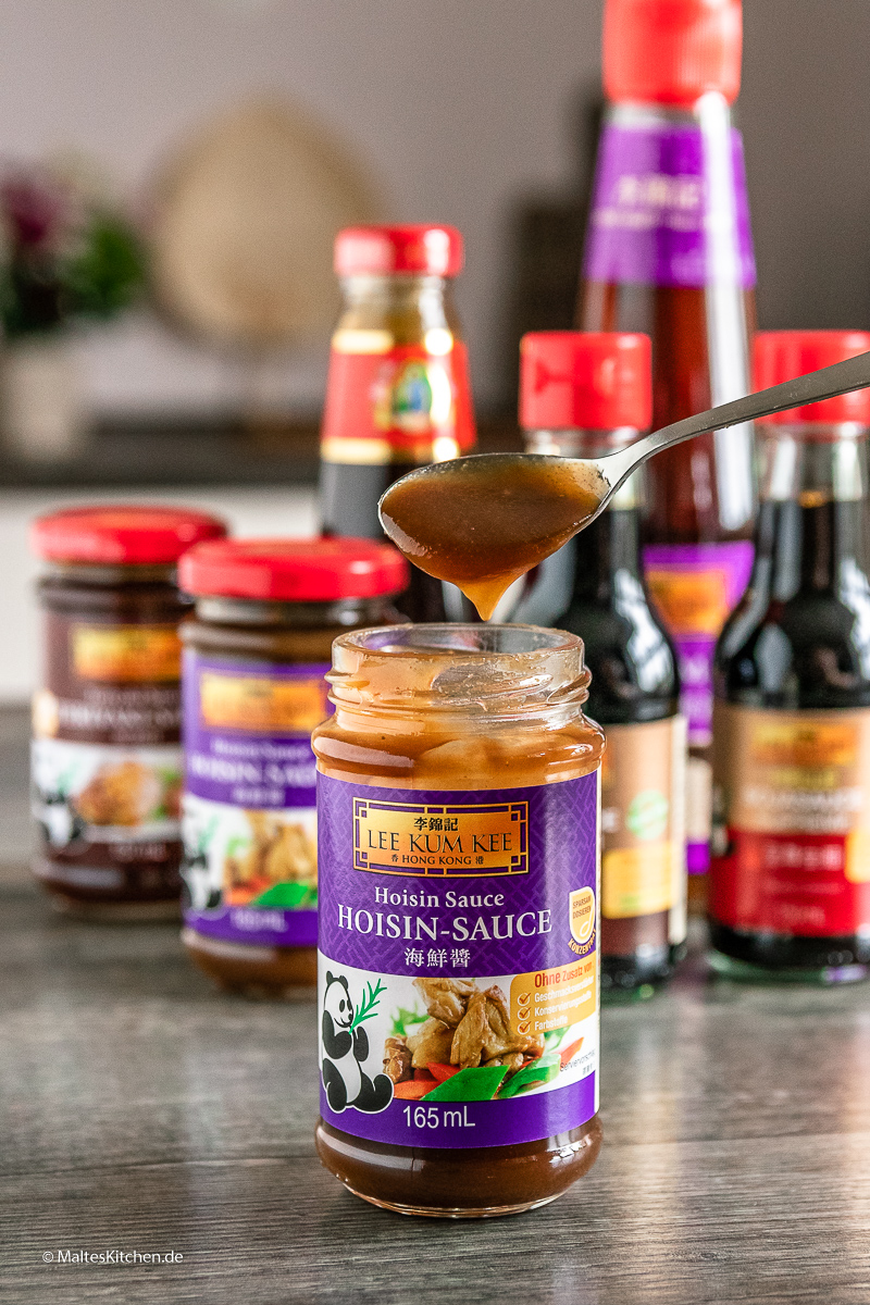 Hoisin-Sauce von LEE KUM KEE.