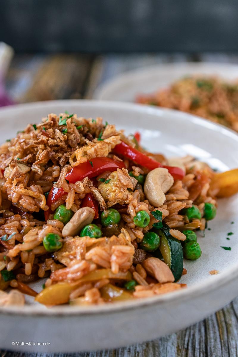 Lecker Indonesisch kochen mit Nasi Goreng.