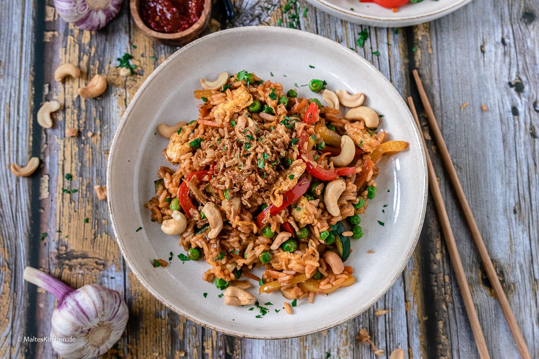 Rezept Nasi Goreng vegetarisch