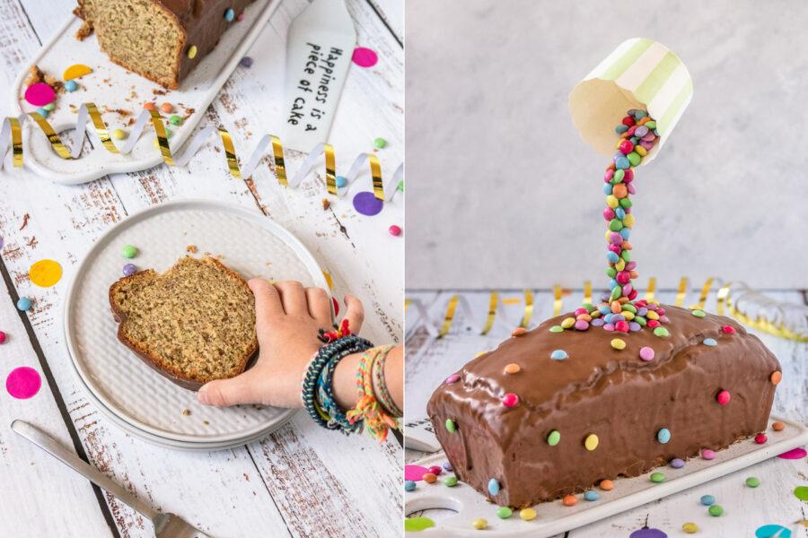 Rezept Nusskuchen mit Zucchini als Anti-Gravity Kuchen
