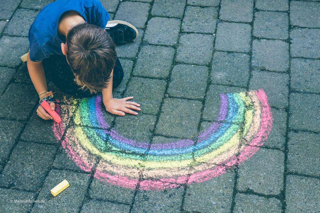 Regenbogen.