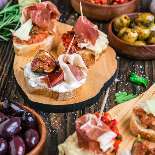 Super leckere Pintxos aus Spanien