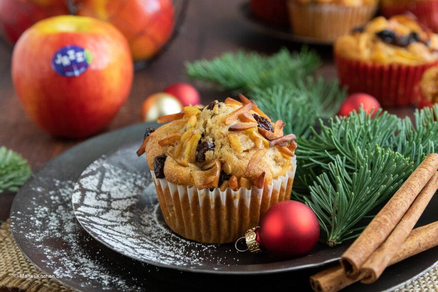 Rezept für leckere Bratapfelmuffins