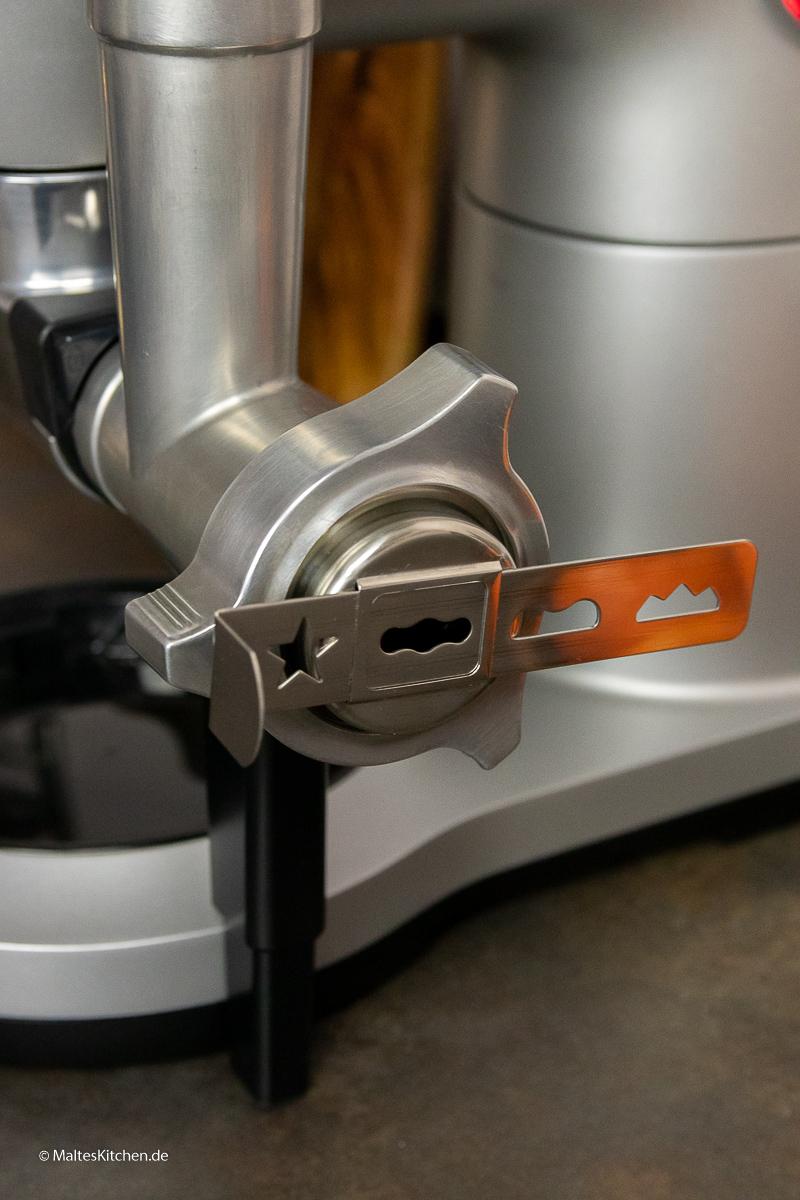 Der Spritzgebäckvorsatz für die Bosch OptiMUM.