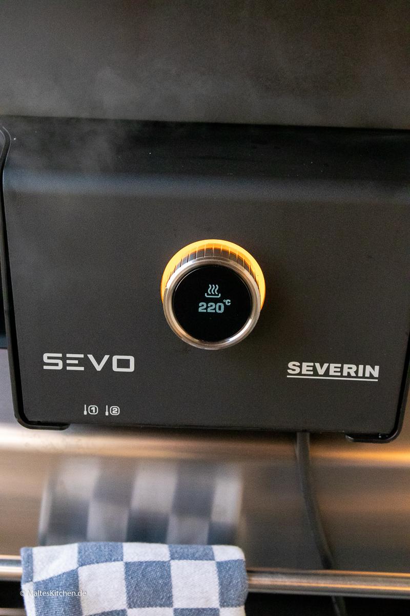 Der SEVO-GTS mit LED-Display.