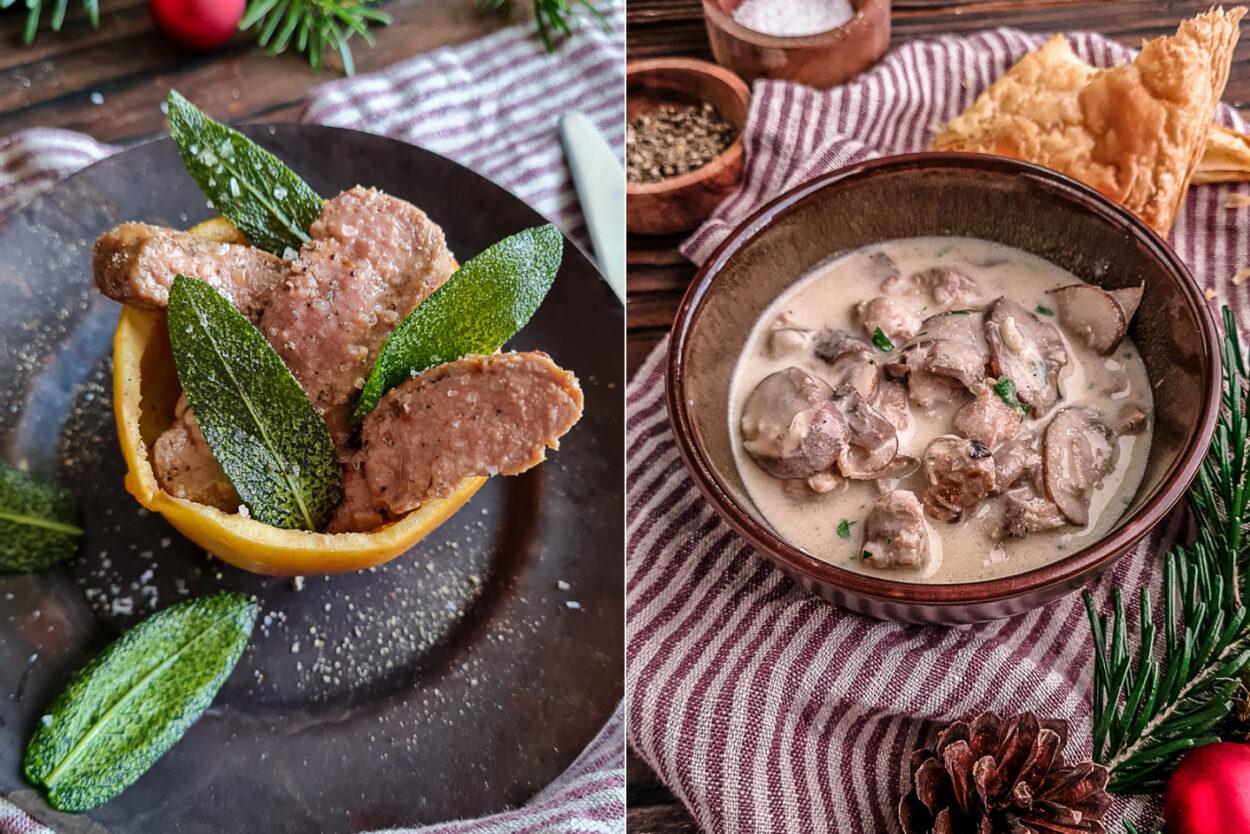 Kochen mit Kalbfleisch - ein Festtagsmenü