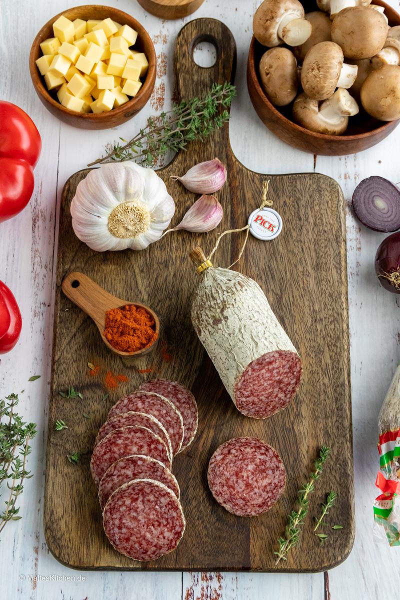 PICK Original Ungarische Salami.